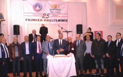 Azerbaycan Kültür Derneği'nin 25'inci yıl kutlaması Den Haag'da yapıldı
