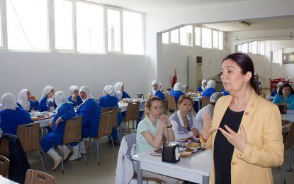 CHP'den Penguen Gıda Fabrikasına Ziyaret