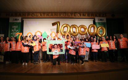 TEMA Vakfı'nın gönüllü sayısı  Türkiye'deki 50 ilin nüfusunu geride bıraktı