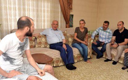 Kocamaz'dan Afrin Gazisine Geçmiş  Olsun Ziyareti