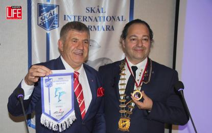 SKAL International Marmara Kulübü Bülent Türker'i ağırladı