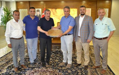 """Çerkeş Belediye Başkanı Sopacı'dan, Karabük'e """"Kardeş Şehir"""" Önerisi"""