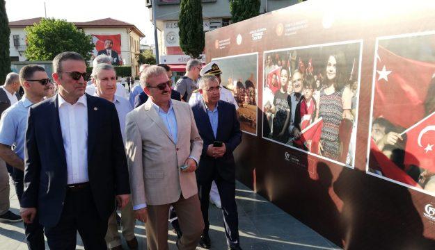 MHP'li Başkan: Yürümezsek Hak yolda, Erimezsek Hak yolda, Çürümezsek Hak yolda, Gök Girsin, Kızıl Çıksın