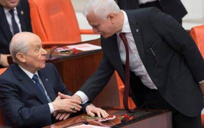Koray Aydın'ın 'Liderimiz Bahçeli' gafına MHP'den ilk tepki