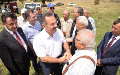 """40 Yıllık Sınır Sorunu """"KARDEŞLİK ÇİZGİSİ"""" İle Giderildi"""