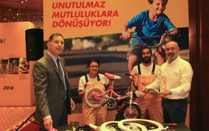 """Eti Sarı Bisiklet, sağlıklı bir yaşam için 5 yıldır """"hareket""""e yatırım yapıyor!"""