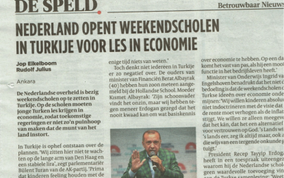 Hollanda gazetesinde düzmece (ironik) haber
