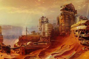 Mars'da Çin Üssü Kuruldu