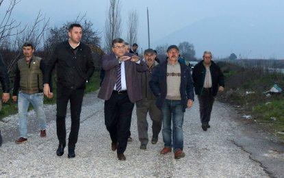 CHP'li Sındır, Kemalpaşa'da üreticilerimizi sel vurdu!