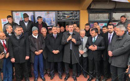 """Tüfenkci: """"31 Mart'taki seçimler evet yerel bir seçim ama esasında Türkiye'nin geleceğini etkileyecek bir seçim"""""""