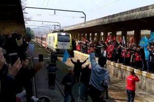 Ada Treni 7 Yıl Aradan Sonra Adapazarı Garı'nda