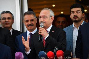 Kemal Kılıçdaroğlu: Ekrem Başkan, 18 günde suyu  indirdi, gençlere imkan sağladı. Bir de 5 yılı düşünün!