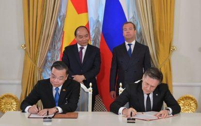 Rusya ve Vietnam arasında, Nükleer Bilim ve Teknoloji Merkezi inşaatı için hükümetler arası anlaşması imzalandı