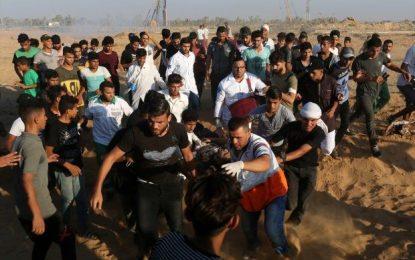 Siyonist İsrail'in katilleri iş başında: 1 şehit 55 yaralı!
