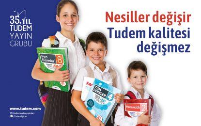Tudem Yayın Grubu, yeni eğitim öğretim yılına hazır