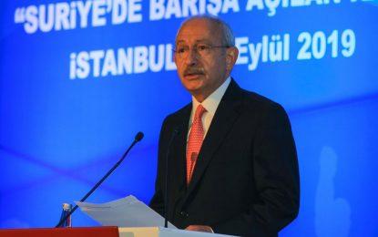 Suriye konferansında konuşan Kılıçdaroğlu: Amacımız akan kanı durdurmak