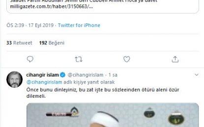 Kavgaya milletvekili böyle dahil oldu: Cübbeli Ahmet, Temel Karamollaoğlu'nu tehdit etti