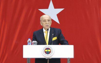 Fenerbahçe Divan Kurulu Başkanı, Erdoğan'a seslendi: Aidatı yatırın