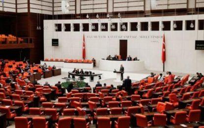 Meclis'teki sandalye dağılımı yenilendi