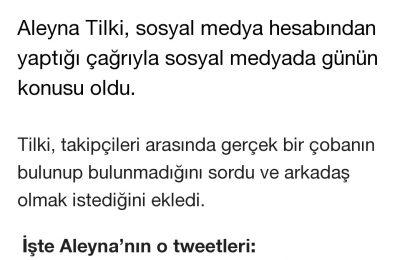 REKORTMENDEN ALEYNA TİLKİ'YE TOKAT