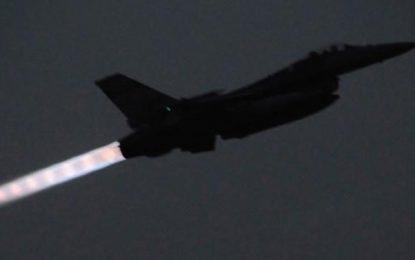 Türk savaş uçakları hava sahası engelini böyle aştı…