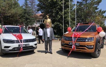 Süloğlu Belediyesi'ne AB'den 800.000 TL'lik Hibe Sıfır İki Araç