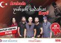 İzmit Belediyesinden Zafer Bayramı öncesiYüksek Sadakat'le arabalı konser