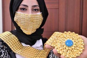 Kahramanmaraş'ta üretilen altın maske, tüm dünyada yankı yaptı